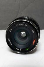Naigon MC 28mm f2.8 Macro Canon FD Mount