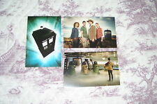 BULK LOT OF 3 BRAND NEW VARIOUS DOCTOR WHO POSTCARDS (TIME AND SPACE) DR WHO