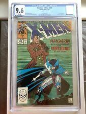 Uncanny X-Men #256 1st New Psylocke Marvel 1989 CGC 9.6 NM+ White Pages New Case