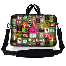 """15.6"""" Laptop Sleeve Bag Case w Shoulder Strap HP Dell Asus Acer Symbols SP65"""