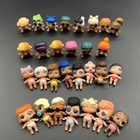 Random 5PCS LOL Surprise Doll Lil Sister Cute Girl Baby Figure Toys Gift Collect