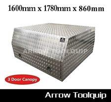 1600 x 1780 x 860 mm Aluminium Toolbox Dual Cab Ute Canopy