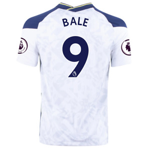 2020/21 NIKE TOTTENHAM FC #9 GARETH BALE HOME, AWAY,3RD JERSEY WITH EPL PATCH