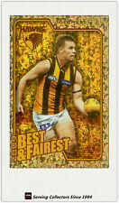 2010 AFL Herald Sun Trading Cards Best & Fairest BF8 Sam Mitchell (Hawthorn)