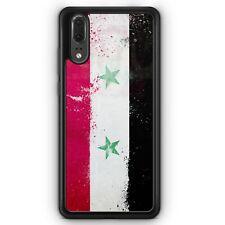 Huawei P20 SILIKON Hülle Syrien Grunge Motiv Design Handyhülle Schutzhülle Cove