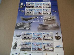ISLE OF MAN 2003 THE HISTORY OF POWERED FLIGHT II FULL SHEETS