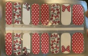 Mickey Mouse Nail Strips/stickers/wraps
