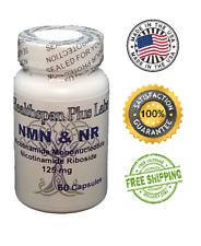 NMN & NR Supplement NAD+ 60 count 125mg NAD Boost