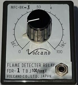 VOLCANO MFC-BK-J FLAME DETECTER RELAY 100/110V