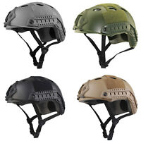 Tactical Military Safety Hat Airsoft Paintball SWAT Base Protective Fast Helmet