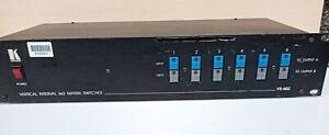 Kramer VS602 Vertical Interval 6x2 Matrix Switcher (GWO) RS232 842664