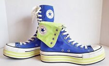 Converse Chuck Taylor All star platforms fold roll high top shoes sz 7.5 / 9.5
