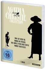 AGATHA CHRISTIE Angela Lansbury P. USTINOV Elizabeth Taylor COLLECTION 4 DVD Box