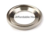 Brush Nickel Mounting Ring for Bathroom Glass Vessel Sink Bowl