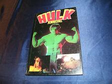 Incredible Hulk libro Dina 4 con foto per serie Hardcover 1980 Lou Ferrigno