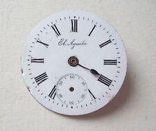 El Aguila Enamel Pocket Watch Dial Esfera Cadran Zifferblatt 26mm