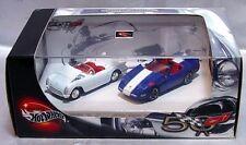 Hot Wheels 100% Collectible 50th Corvettes 2 Car Set 53 & 96 Grand Sport 2002
