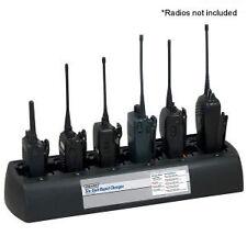 Endura mutli 6 Unidad dos vías de Radio Cargador. Kenwood Etc