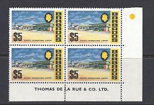 Barbados 1970 Sg 414a Smaltata Carta Blocco / 4 Nuovo senza Linguella
