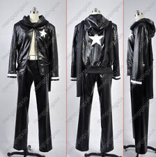 Black Rock Shooter Black Gold Saw man Cosplay Costume Custom