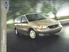 2003 Ford Windstar Sales Brochure 03 100th Anniversary
