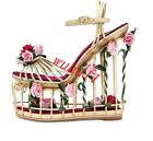 Women Sandal Party Hollow Out Floral Flowers Birdcage Platform Wedge Heel Shoes