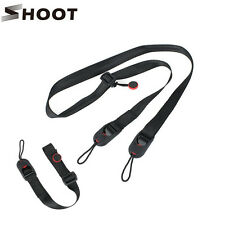 Pro Quick Release Camera Cuff Wrist Strap+Leash Shoulder Strap Sling ABS Buckle