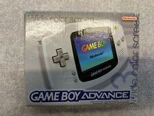 NINTENDO GAME BOY - ADVANCE WHITE (BOXED)