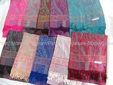 US Seller-12pcs Wholesale scarf wraps paisley vintage viscose pashmina scarf