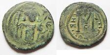 ZURQIEH -aa2439- A RARE VARIETY: ISLAMIC. UMMAYAD CALIPHATE. TIME OF MU'AWIYA I