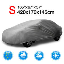 Waterproof Full Car Cover Sun Dust Rain Resistant Protection For All Sedan 165""