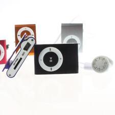 Mini Clip Plug-in de tarjeta Micro SD TF ranura del lector reproductor de música MP3 de moda de plata