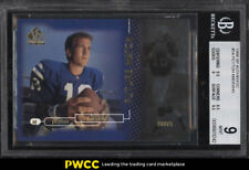 1998 SP Authentic Peyton Manning ROOKIE RC /2000 #14 BGS 9 MINT (PWCC)