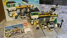 Lego 588 Police Headquarters set (1979) including instructions and box shell