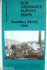 OLD ORDNANCE SURVEY MAP ABERTILLERY (NORTH) MONMOUTHSHIRE  1899 Sheet 17.08 New