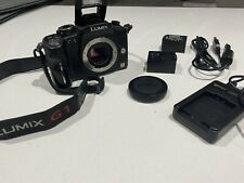 PANASONIC LUMIX DMC-G1 Mirrorless Micro Four Thirds Digital Camera Body - Black