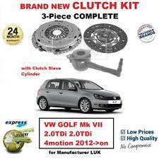 Pour VW Golf Mk VII 2.0TDi 4motion 2012- > Neuf 3Piece Kit D 'em Brayage avec