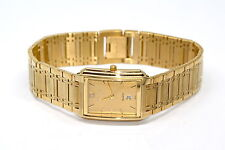 NIVADA SWISS WATCH GOLD STAINLESS STEEL HIGH QUALITY WATER RESISTANT