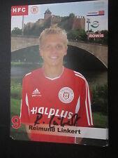 19694 Reimund Linkert HFC 2004 - 2005 original signierte Autogrammkarte