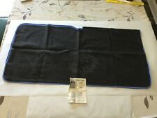 Vtg Bedtime Bird Cage Cover To Embroider Craft Piece Needle Black Blue Night