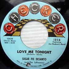 SUGAR PIE DESANTO vg+ PROMO Northern Soul 45 Crazy Lovin / Love Me Tonight Ct833