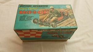 Marx toys Race a Kart Remote Control Go Kart Made in Japan 19501960 Molto Raro