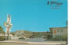 El Cajon CA Downtown TraveLodge Postcard 1960s