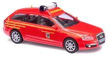Busch 49662 Audi A6 avant Feuerwehr Dessau Pompiers Bomberos Echelle 1 87 HO OVP