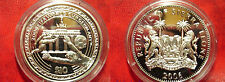 2006 Sierra Leone Large Proof Silver $10 World Cup Soccer Germany