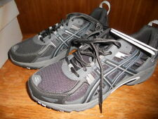 Mens Asics Black Charcoal Tennis Athletic Shoes Size 8 NEW NIB Gel Venture 5