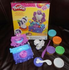 PLAY-DOH MY LITTLE PONY RARITY STYLE & SPIN SET 100% COMPLETE TOY IN BOX PLAYSET