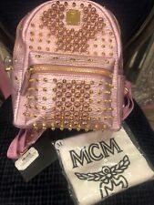 MCM Tasche Damen Rucksack Original Limitiert  Backpack neu Swarovski