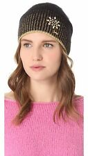Juicy Couture ANGORA HAT IN black NEW $88