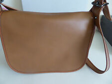 Coach 55298 Glove Tanned Leather Crossbody Saddle Color Bag  $395